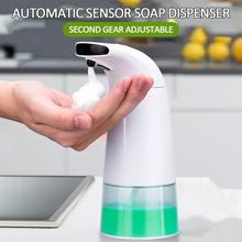 Portable 250ML Bathroom Automatic Foam Soap Dispenser Shampoo Lotion Container Soap Pump Ouchless Automatic Hand Washer Morden