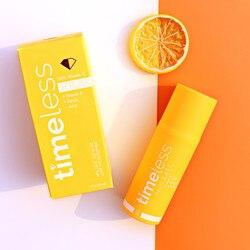 Timeless 20% VITAMIN C + E Ferulic Acid Serum Antioxidant Whitening Moisturizing Face Serum Anti Wrinkle Brighten skin Skin Care