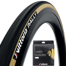 1 pair vittoria tubular rally tire 700c x 25mm black for 220tpi road racing training