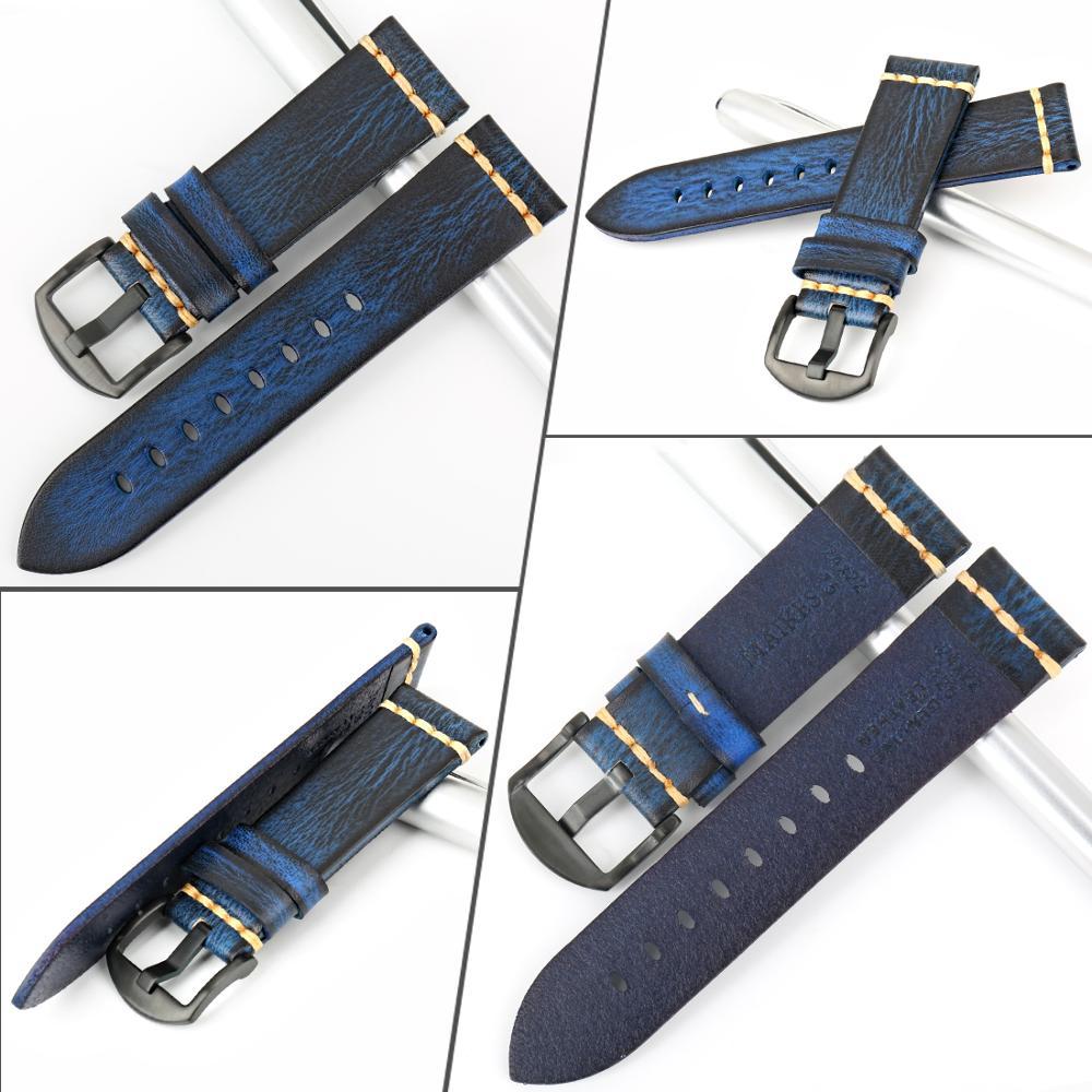 Image 2 - Galaxy Watch Accessories Watchband 18mm 20mm 22mm 24mm Watch Strap Watchbands Omega Wrist Bracelets samsung gear s3 Watch BandWatchbands   -