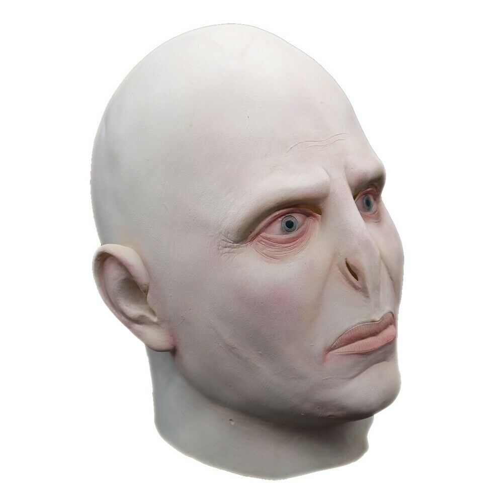 Lord Voldemort Mask Cosplay Masque Boss Latex Horrible Scary Masks Terrorizer Halloween Mask Costume Prop Men