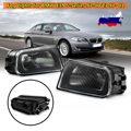 Противотуманный светильник в сборе, 2 шт., автомобильный передний противотуманный светильник s, прозрачная линза корпуса, без ламп, для BMW E39, 5...