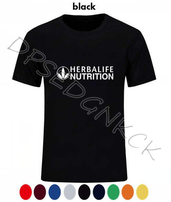 Spring Autumn Herbalife Nutrition Logo T Shirt Herbalife Graphic Men And Women Short Sleeve Coat Tees Tshirt  A16