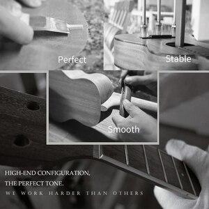 """Image 4 - 우쿨렐레 로즈 우드 어쿠스틱 나일론 4 현 ukulele 레베이스 기타 21 """"소프라노 우쿨렐레 초보자 또는 기본 플레이어 우쿨렐레 콘서트"""