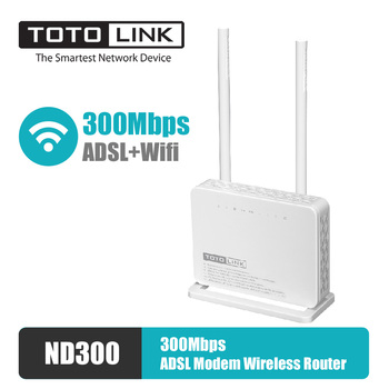 TOTOLINK módem Router ADSL ND300 300Mbps inalámbrico N Router