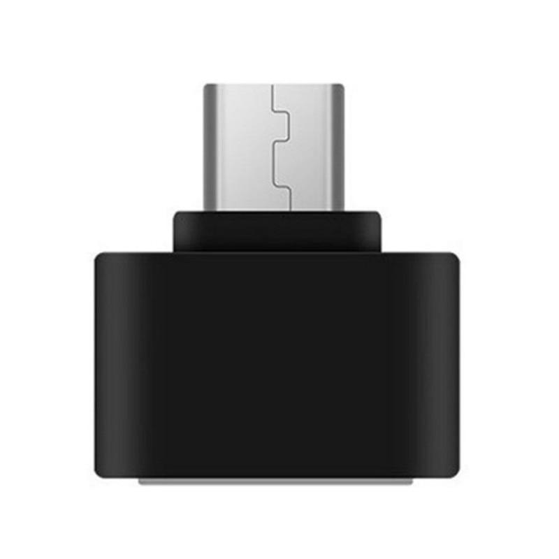 Dropshipping 2019 OTG Adapter Type-C USB3.1 To USB2.0 Mini OTG Adapter New Black TypeC Data Transfer Converters For Phone Laptop