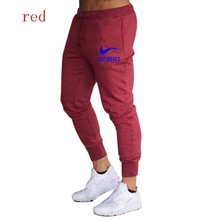 2019 Men's sweatpants New Men's Running Pants Drawstring Zipper Joggers pocket Pants Sweatpants Male Sport Basketball Tennis contrast panel drawstring sweatpants