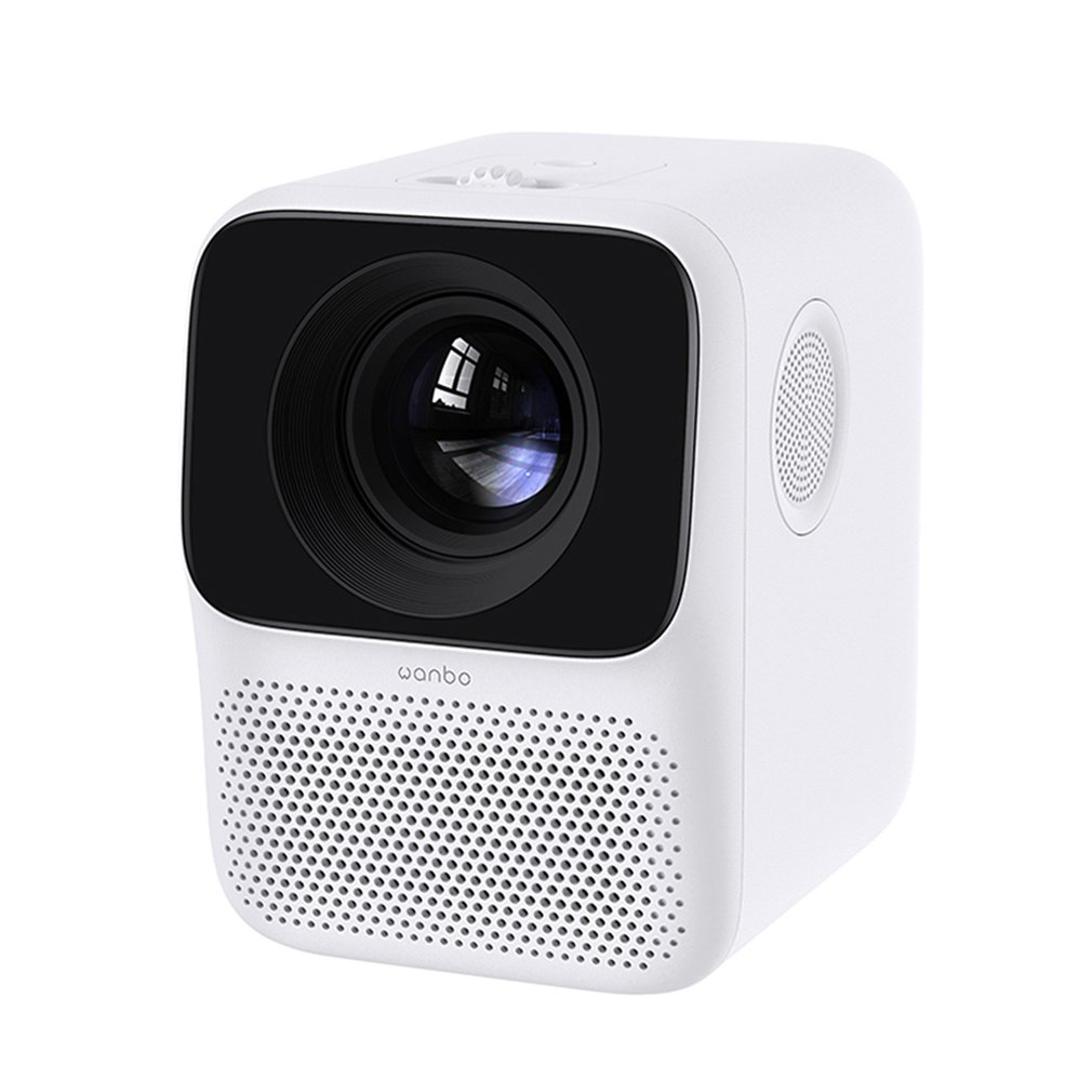 T2 Free LCD Projector LED Support 1080P Vertical Keystone Correction Portable Mini Home Theater Projector Global Version