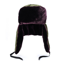 Plus Velvet Thick Windproof Warm Hats Earmuffs Winter Cold Caps Tactical cap Out