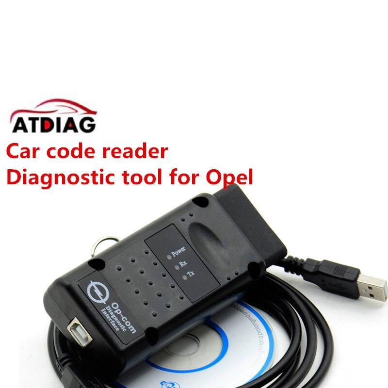 OBD2 OPCOM V1.99 para o-p * el lector de códigos escáner OP COM CANBUS opcom mejor que elm327 obd2