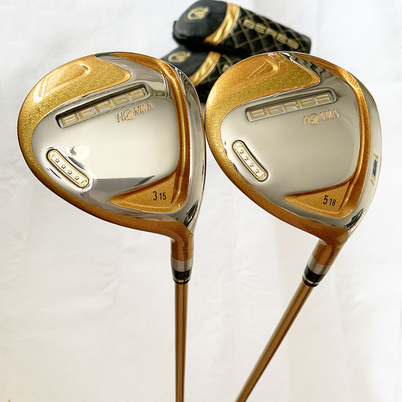 Ha88cb978004a45759f2830ba5be1871aV New Golf club HONMA S-07 4 star Golf complete clubs Driver Fairway wood irons Putter bag Graphite Golf Shaft with Headcover
