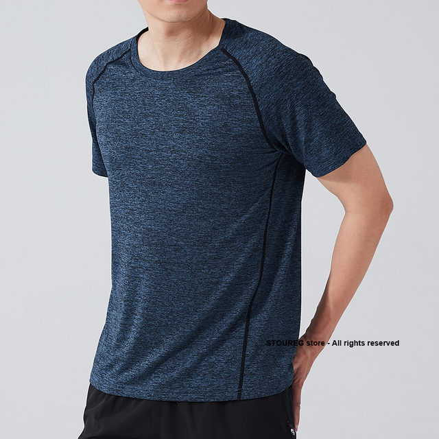 Men's Running T-Shirts, Quick Dry Compression Sport T-Shirts, Fitness Gym Running Shirts, Soccer Shirts Men's Jersey Sportswear