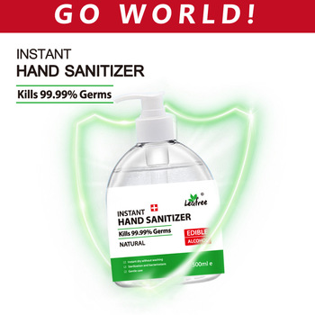 500ml Capacity Antibacterial Gel Disposable Hand Sanitizer Hand Disinfection Gel  No Clean Waterless Alcohol  Antiseptic Handgel