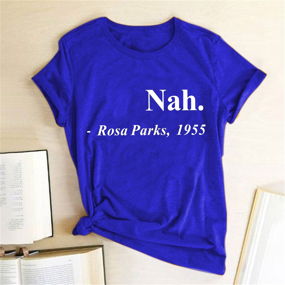 Nah Rosa Parks 1955 Boys Short-Sleeve Crewneck T-Shirt