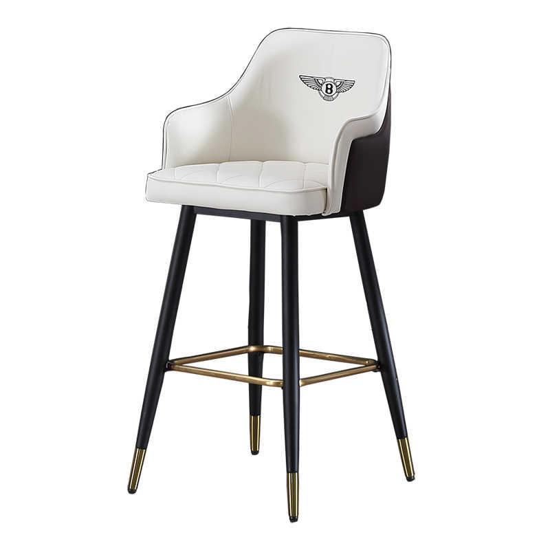 Nordic Bar Stuhl Licht Luxus Moderne Minimalistischen Hohe Stuhl Bentley Bar Stuhl Amerikanischen Schmiedeeisen Hohe Hocker Hohe Zurück
