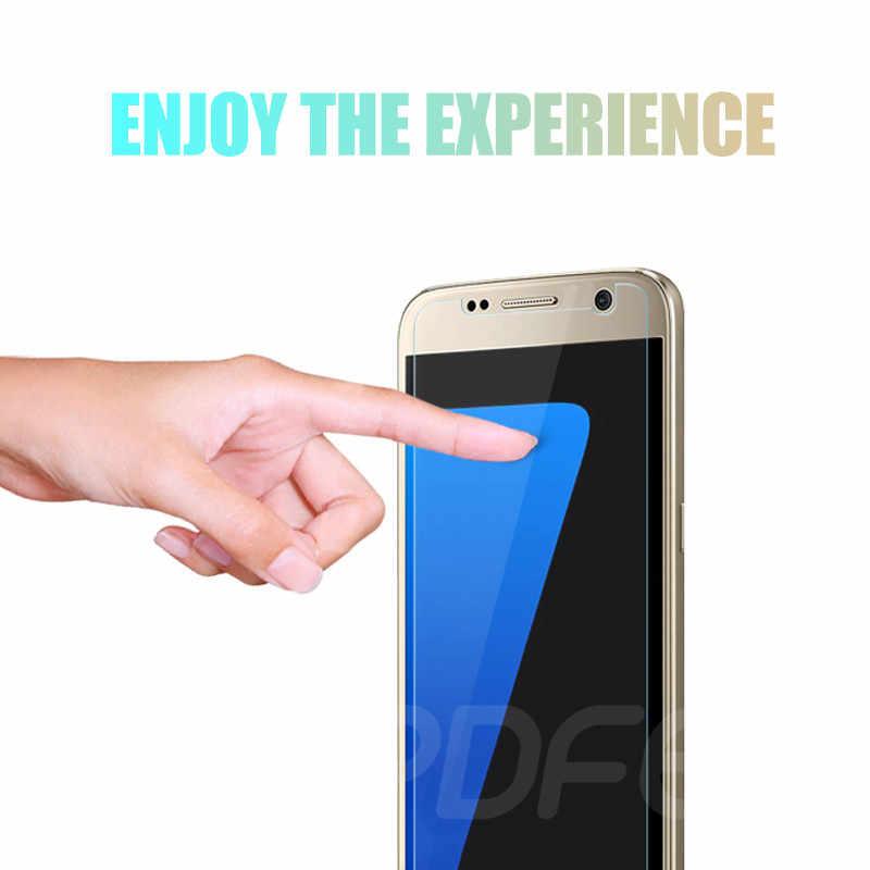 9H HD الزجاج المقسى على لسامسونج غالاكسي S7 S6 S5 S4 S3 البسيطة واقي للشاشة لسامسونج ملاحظة 5 4 3 زجاج واقي فيلم