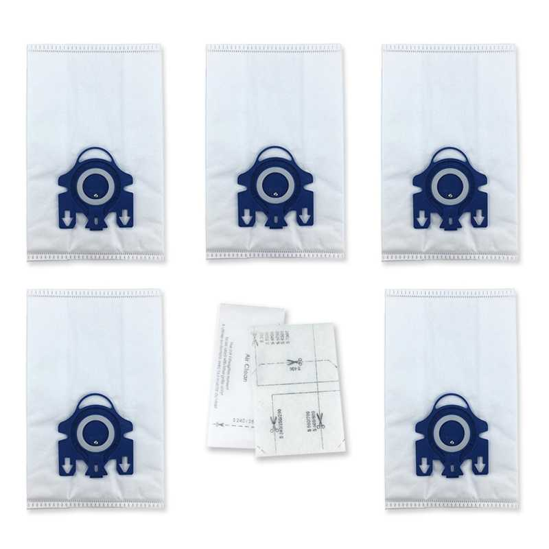 12pcs 3D Efficiency HyClean Dust Bags For Miele GN Vacuum Cleaners Parts Useful