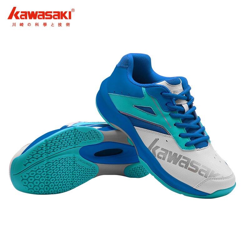 Kawasaki-zapatos De Bádminton Profesionales Para Hombre Y Mujer, Zapatillas Deportivas Transpirables, Antideslizantes, Color Azul, K-088, 2021
