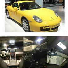 цена на LED Interior Car Lights For Porsche cayman 981 987 coupe macan 95b panamera 970 hatchback car accessories lamp bulb error free