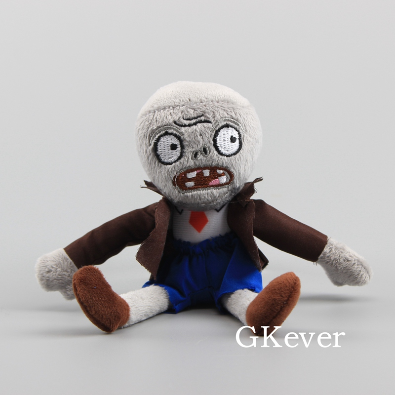 18cm Kawaii Zombie plush doll toys stuffed animals keychain Children Baby Gift Cartoon Anime plush toys Action Toy Figures