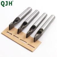 2mm * 3/4/5/6/7/8/9/10/11/12mm DIY Bohren Bit Leder Handwerk Puncher Flache Locher Maker Cutter Meißel Werkzeug Set