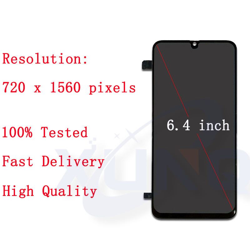 Оригинальный ЖК дисплей для samsung Galaxy A40s 2019 A407 A407F, сенсорный ЖК экран, дигитайзер, стекло в сборе, запасные части, бесплатная доставка - 3