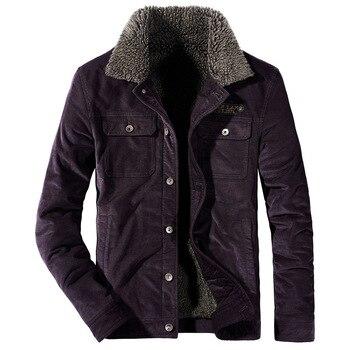 2020 invierno de los hombres chaqueta con capucha abrigo ropa Casual gruesa...
