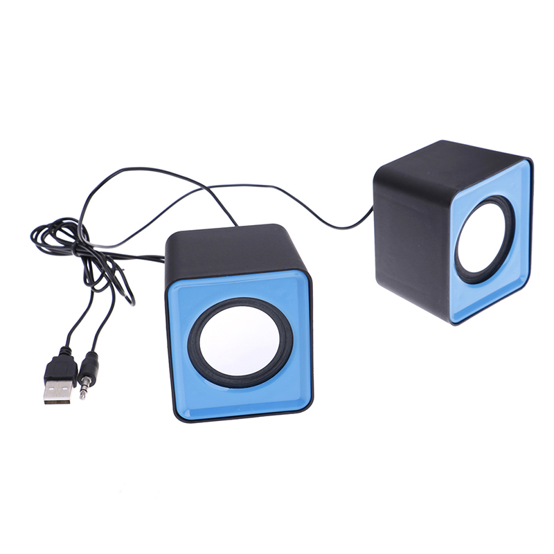 Multimedia Sound Box Mini Speaker For Computer Desktop Set Music Stereo Home Theater Party Speakers 3.5mm Jack Column