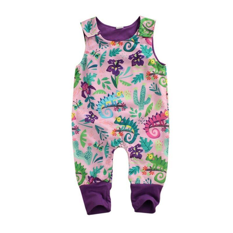 Newborn Infants Baby Boys Girls Romper Cartoon Jumpsuit Bodysuit Outfits Clothes