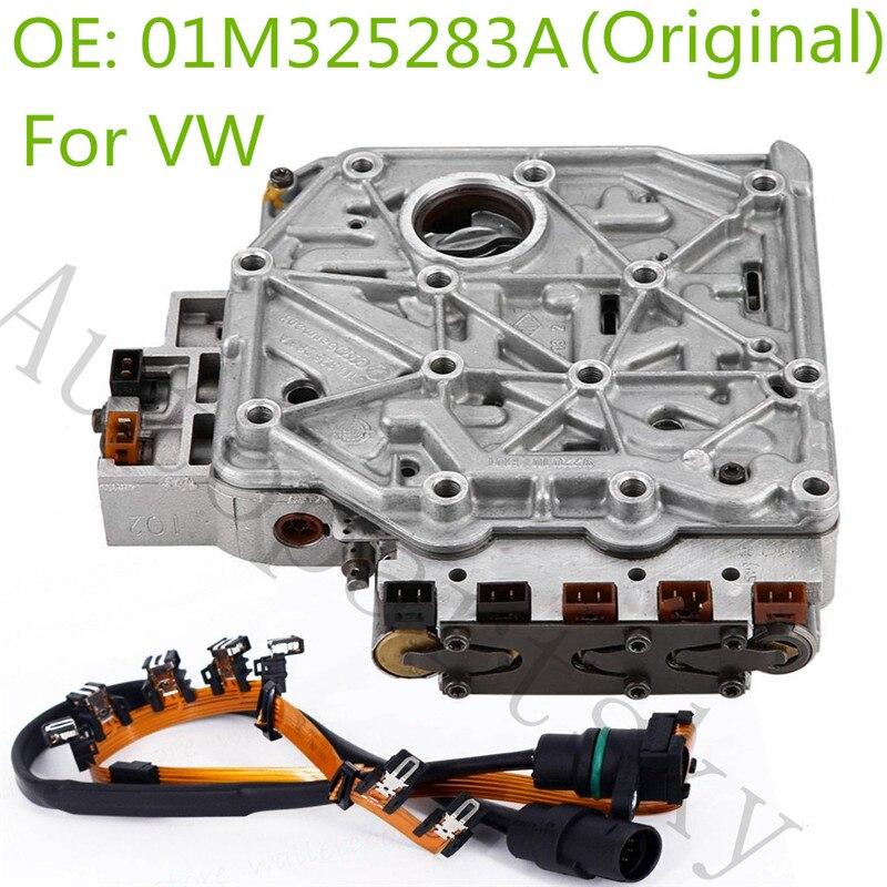 Original 01M Válvula de transmisión cuerpo solenoide para VW para Volkswagen Jetta carro 01M325283A 01M325105F 096927435A