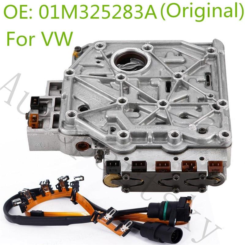 Orijinal 01M şanzıman vana gövdesi için solenoidler için VW Volkswagen Jetta Jetta vagon 01M325283A 01M325105F 096927435A