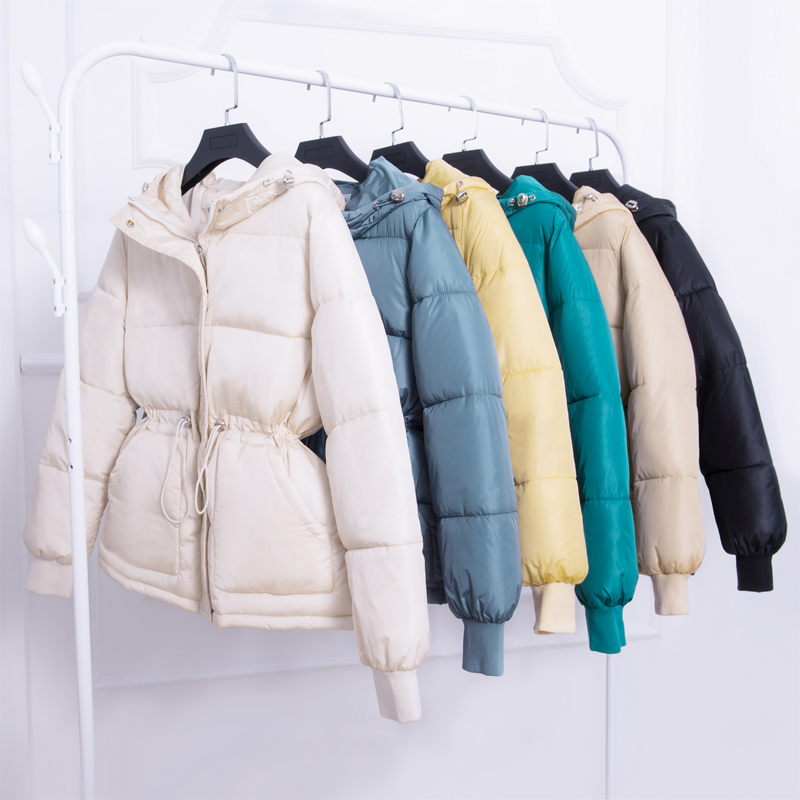 2019 Winter Fashion jackets   parkas   coat solid Thick warm hooded soft jackets winter big pocket jacket outwear