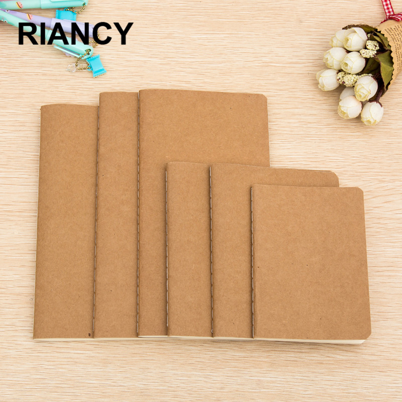 1pc Cowhide Paper Sketchbook Bullet Journal Cute Notebook Paper Weekly Planner Accessories Stationery Diary Agenda Travel 01623