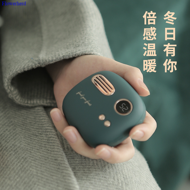 Cute Charging Hand Warmer Mobile Power Portable Small Winter Portable Stove Gift Hand Warmer Rechargable Portable Heater