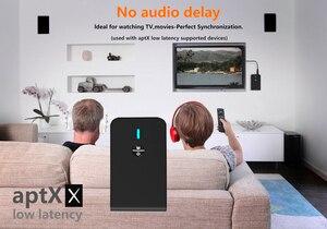 Image 5 - 2 で 1 ワイヤレスbluetooth 5.0 トランスミッタ充電式受信機テレビコンピュータ車のスピーカー 3.5 ミリメートルauxハイファイ音楽オーディオアダプタ
