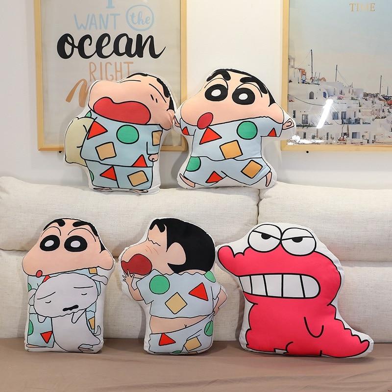 45 см/60 см креативный двойной печати Животные плюшевые подушки для костюмированной вечеринки по японскому аниме персонажа игрушки; Лучший п...