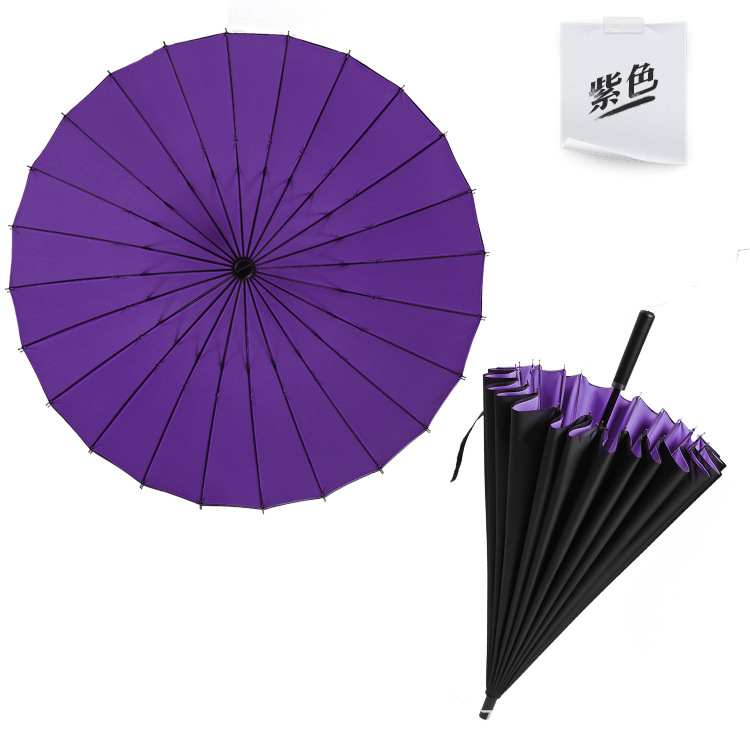Men Quality Travel Parasol Rain <font><b>Umbrella</b></font> v24K Strong Double Windproof Glassfiber Long Handle <font><b>Big</b></font> <font><b>Golf</b></font> <font><b>Umbrella</b></font> Women Gifts image