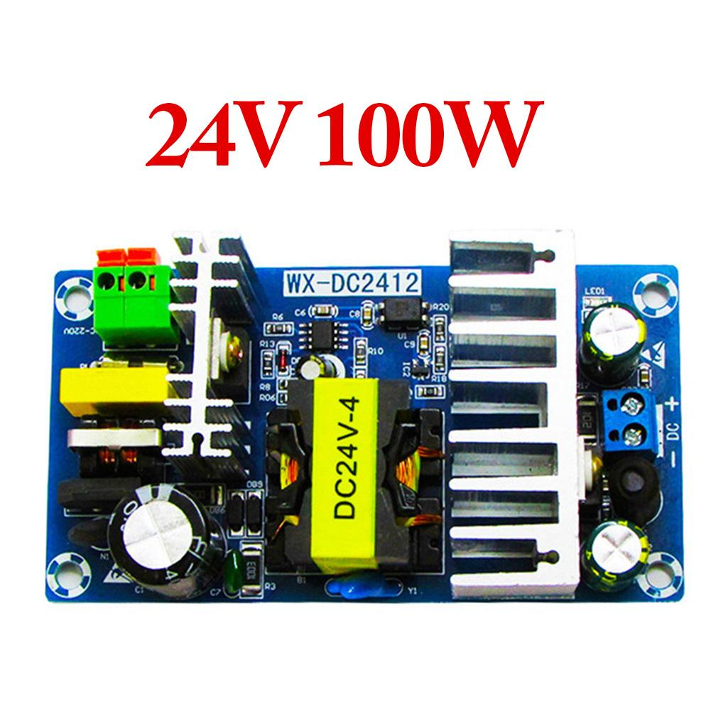 WX-DC2412 100W High Power Switching Power Supply Module 4-6A Output WX-DC2412 Over Voltage AC-DC Switching Power Supply Board