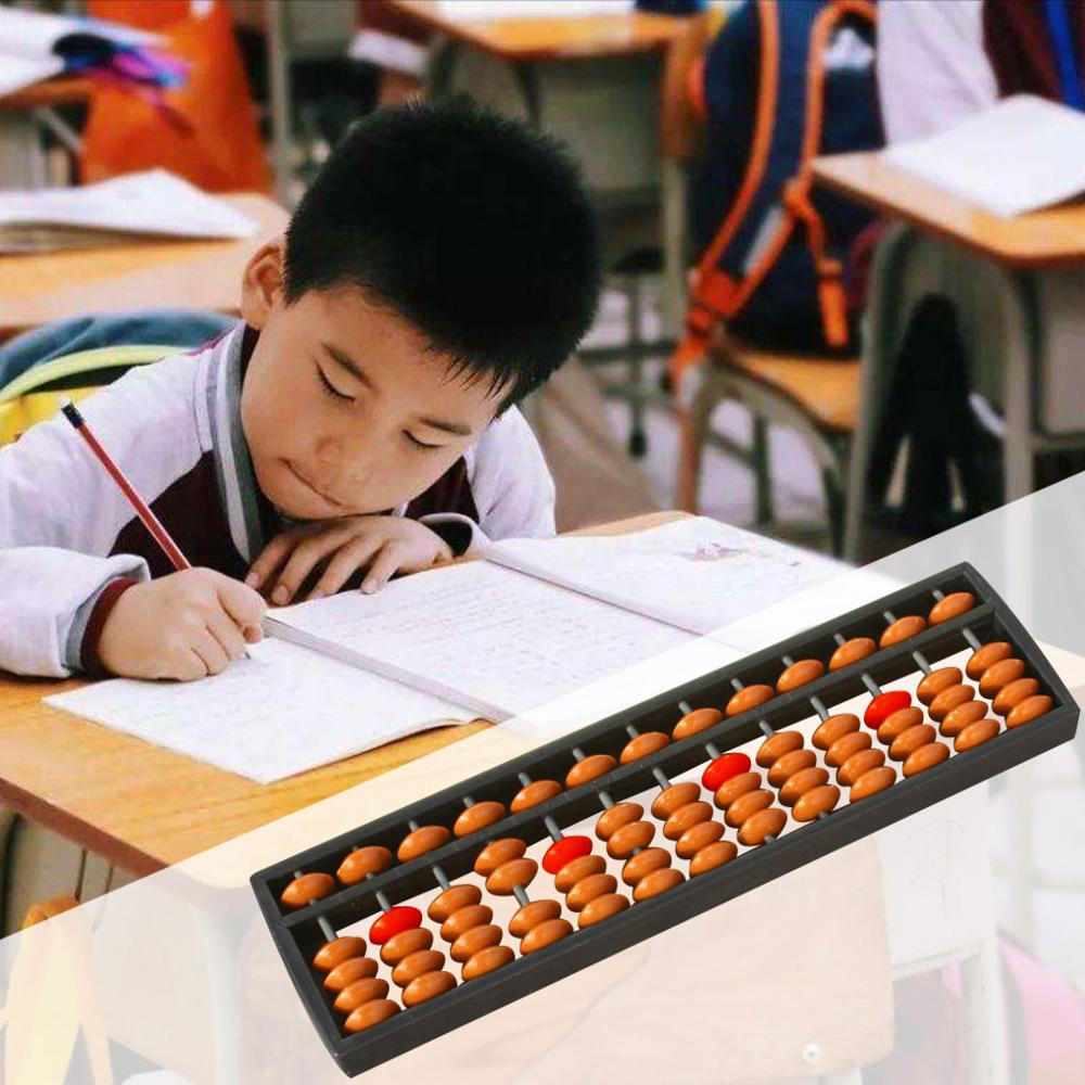 Hot Sale 13 Digits Arithmetic Tool Kid's Math Learn Aid Calculate Infant Abacus Toys For Early Education Baby Toys