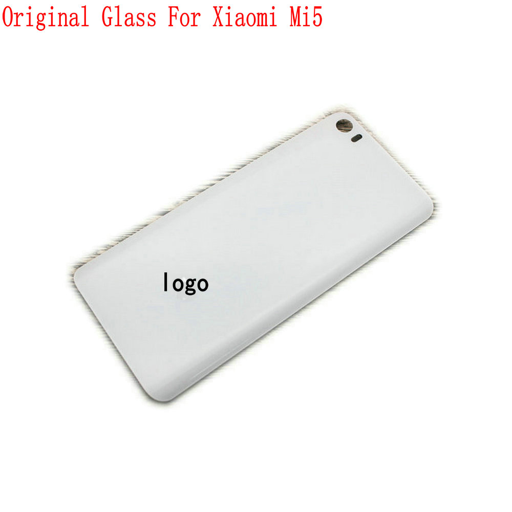 Original Back Cover For Xiaomi Mi5 Snapdragon 820 Quad Core Mobile Phone Glass Rear Case Back Housing in Mobile Phone Housings Frames from Cellphones Telecommunications