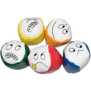 10 sztuk zabawne miny worki z piaskiem miękkie dziecięce worki z piaskiem odpowiednie dla dzieci do rzucania tanie i dobre opinie CN (pochodzenie) Kategoria z worków z piaskiem 3 lat