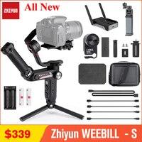 Zhiyun WEEBILL S WEEBILL LAB stabilizzatore cardanico a 3 assi per fotocamera Mirrorless e DSLR Sony A7 III A6000 Nikon Panasonic GH5 Canon