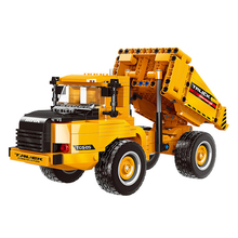 XINGBAO 03034 NEW City Engineering Series 545pcs The Dump Truck Building Blocks Bricks Carrier Vehicle Model Educational Toys lepin 02102 city series the mining experts site set with dump truck 60188 building blocks bricks funny toys model kids gifts