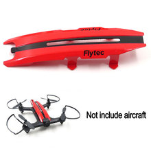 лучшая цена RC Wifi Drone Fuselage Body Replacement Part For Flytec T18 RC Helicopter T18-2