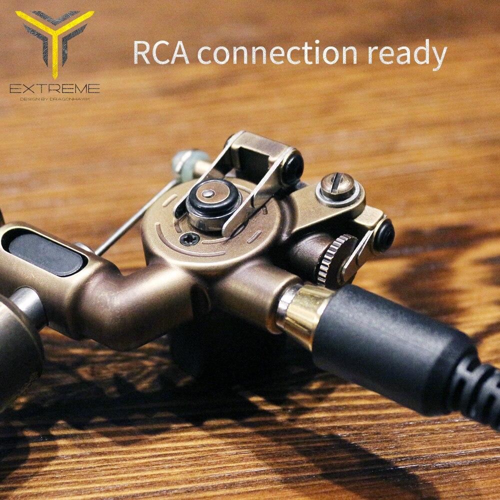 Гибридная роторная тату машина RCA Интерфейс для Liner Shader татуировки пистолеты Мощный Тихий мотор татуировки Макияж навсегда ассортимент