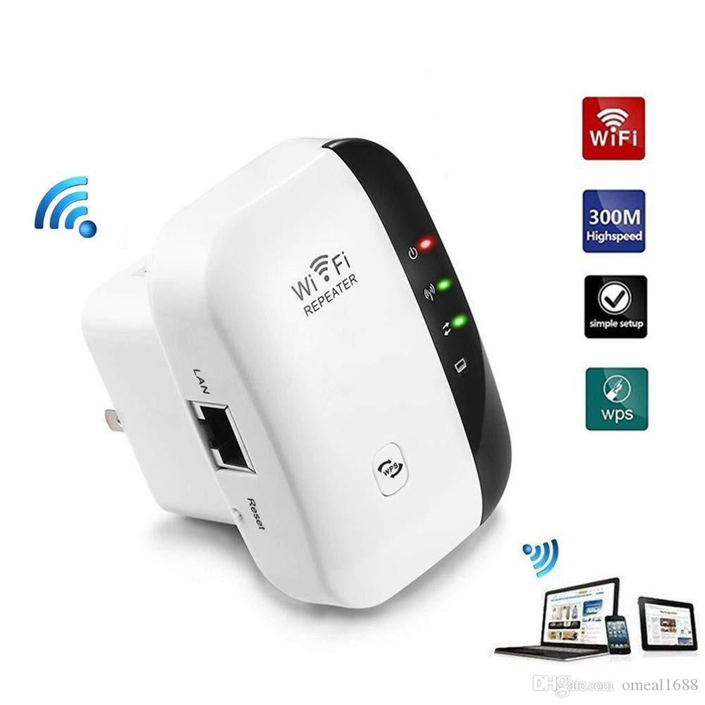 WiFi Extender 300Mbps Wireless 2.4GHz Internet , Network Extender With WPS And Ethernet Port