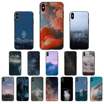 MaiYaCa Pink Aesthetics songs lyrics Aesthetic Phone Case Cover for iPhone 11 pro XS MAX 8 7 6 6S Plus X 5 5S SE XR SE2020 image