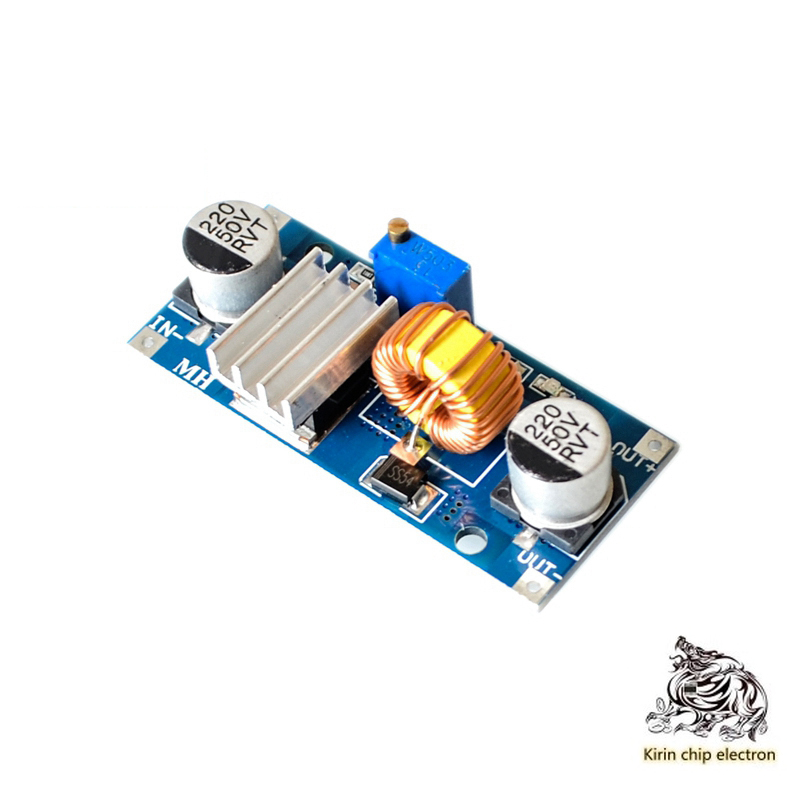 5pcs / Lot Module 5A4 ~ 38V High Power Efficiency DCDC Adjustable Step-down Module Low Ripple Fz12