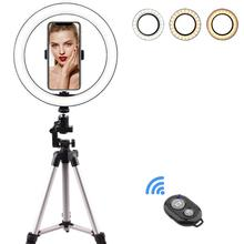 zomei 10inch selfie led ring light with stand camera studio light ring for smartphone with phone holder for live video makeup 10inch Selfie Ring Light with 39.40inch Tripod Stand & Phone Holder for Makeup Live Stream LED Camera Ring Light  for Vlog other