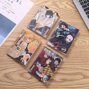 Anime Demon Slayer Kimetsu No Yaiba Kamado Tanjirou Pattern Notebook Office School Student Note Book Stationery Gift
